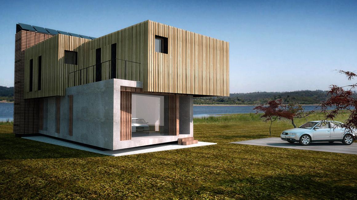 Progettazione Casa In Legno : Casa privata in legno trento u tn u gpa studio